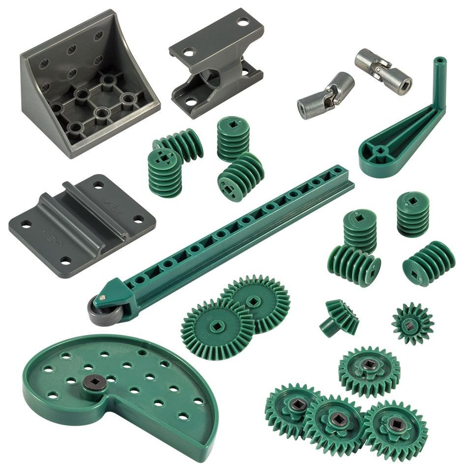 Vex Advanced Mechanics And Motion Kit Motors And Gears