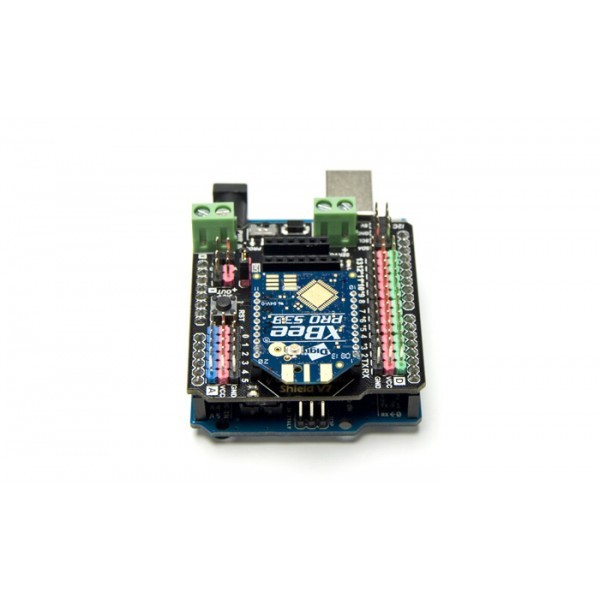 Io expansion shield for arduino v
