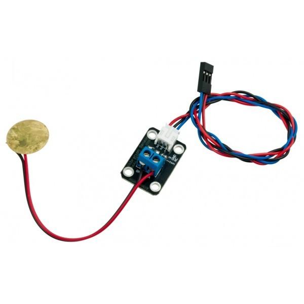 Piezo Disk Vibration Sensor Sensors Microcontrollers