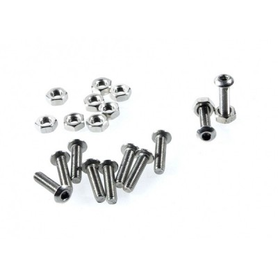 10 sets M3x16 screw low profile hex head cap screw