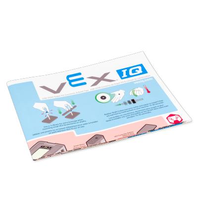 VEX IQ Super Kit Contents & Build Tips Poster