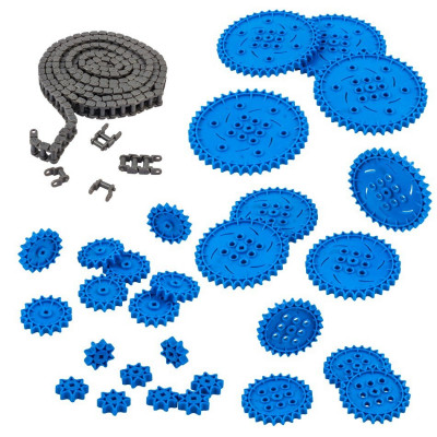VEX IQ Chain & Sprocket Kit (Blue)