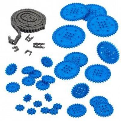 VEX IQ Chain & Sprocket Kit (Blue)