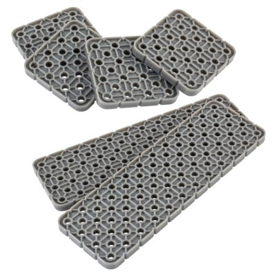VEX IQ 4x Plate Base Pack (Dark Gray)