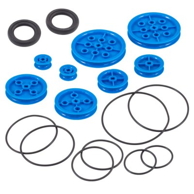 VEX IQ Pulley Base Pack (Blue)