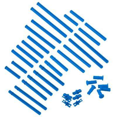 VEX IQ Plastic Shaft Base Pack (Blue)