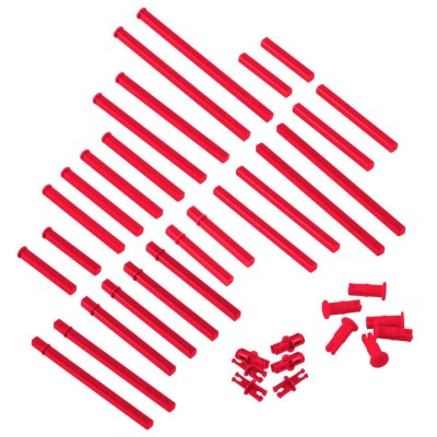VEX IQ Plastic Shaft Base Pack (Red)