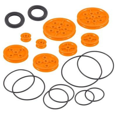 VEX IQ Pulley Base Pack (Orange)