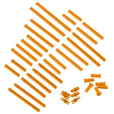 VEX IQ Plastic Shaft Base Pack (Orange)