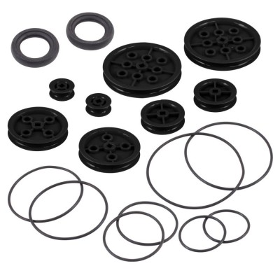 VEX IQ Pulley Base Pack (Black)