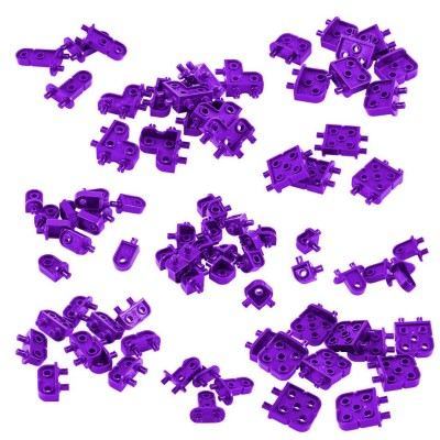 VEX IQ Corner Connector Base Pack (Purple)