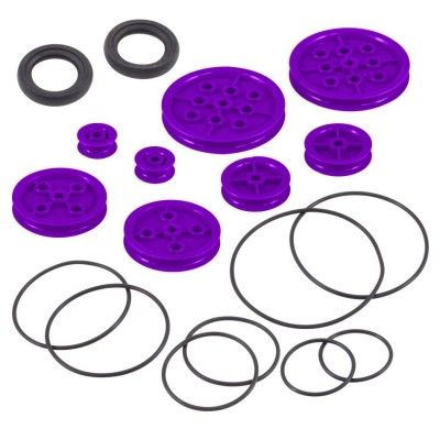 VEX IQ Pulley Base Pack (Purple)