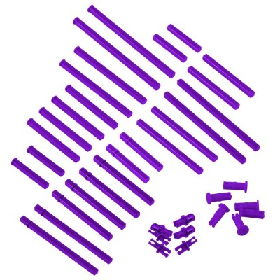 VEX IQ Plastic Shaft Base Pack (Purple)