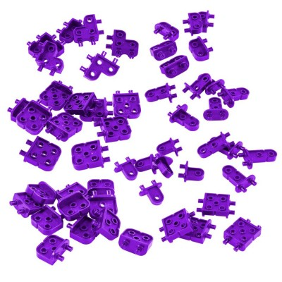 VEX IQ Corner Connector Foundation Add-On Pack (Purple)