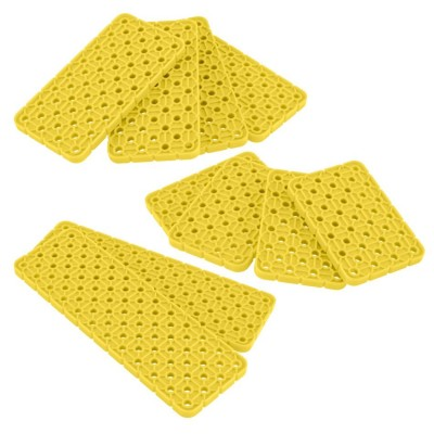 VEX IQ 4x Plate Foundation Add-On Pack (Yellow)