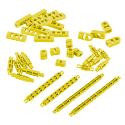 VEX IQ Standoff Foundation Add-On Pack (Yellow)