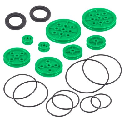 VEX IQ Pulley Base Pack (Green)