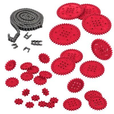 VEX IQ Chain & Sprocket Kit (Red)