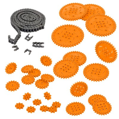 VEX IQ Chain & Sprocket Kit (Orange)