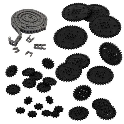 VEX IQ Chain & Sprocket Kit (Black)