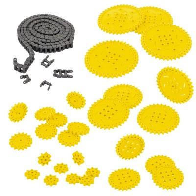 VEX IQ Chain & Sprocket Kit (Yellow)