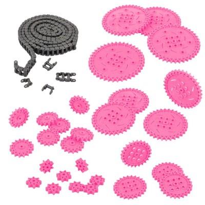 VEX IQ Chain & Sprocket Kit (Pink)