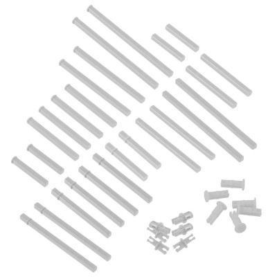VEX IQ Plastic Shaft Base Pack (White)
