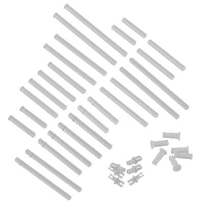 VEX IQ Plastic Shaft Base Pack (White)