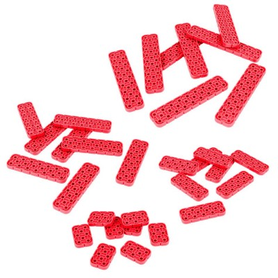 VEX IQ 2x Beam Odd Length Pack (Red)