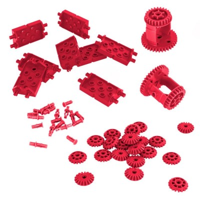 VEX IQ Differential & Bevel Gear Pack (Red)