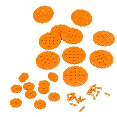 VEX IQ 24 & 48 Tooth Gear Pack (Orange)