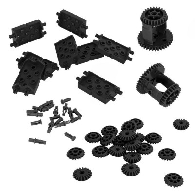 VEX IQ Differential & Bevel Gear Pack (Black)