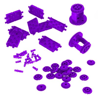 VEX IQ Differential & Bevel Gear Pack (Purple)