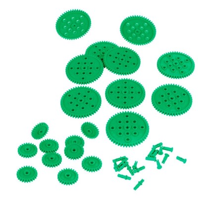 VEX IQ 24 & 48 Tooth Gear Pack (Green)