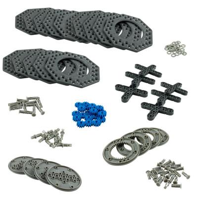 VEX IQ Planetary Gear & XL Turntable Pack (Dark Gray)