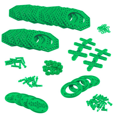 VEX IQ Planetary Gear & XL Turntable Pack (Green)