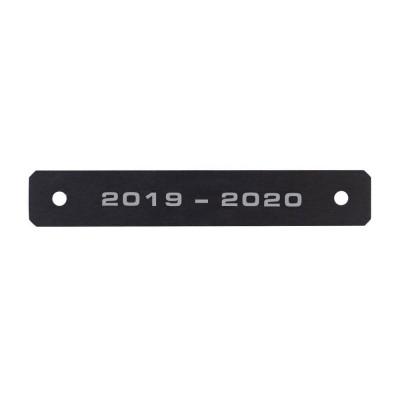 "VRC Award Date Plate ""2019-2020"""