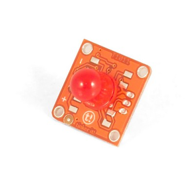TinkerKit Red LED - 10mm