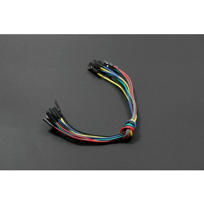 230mm Jumper Wires F/F (10 Pack)