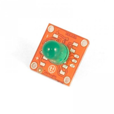 TinkerKit Green LED - 10mm