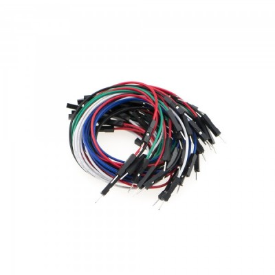 """Jumper Wires 7.8"""" F/M (High Quality) (30 Pack)"""