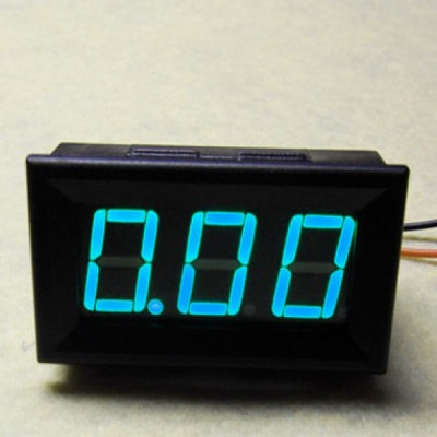LED Current Meter 10A (Blue)