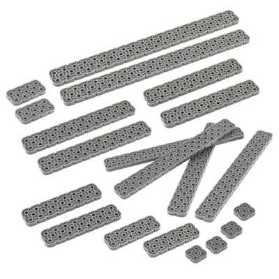 VEX IQ 2x Beam Foundation Add-On Pack (Dark Gray)
