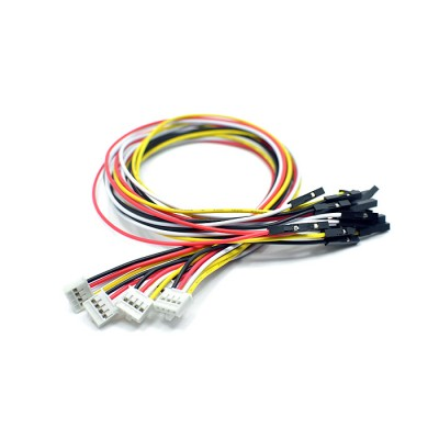 Grove - 4 pin Female Jumper to Grove 4 pin Conversion Cable (5 pack)