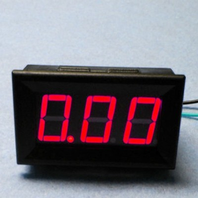 LED Current Meter 10A (Red)