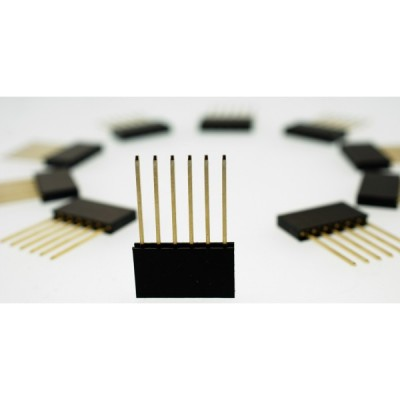 Stackable Header - 6 Pin (Extended)