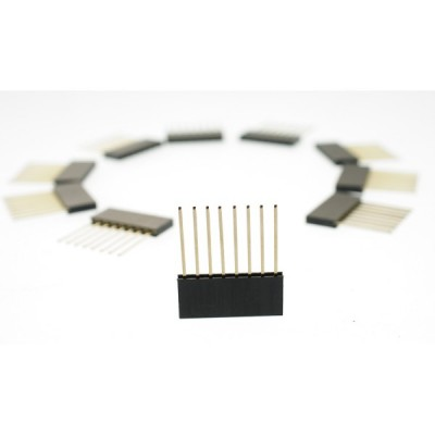 Stackable Header - 8 Pin (Extended)