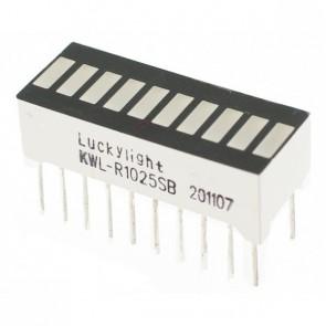 10 Segment LED Bar Graph - Red