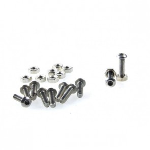 10 sets M3x12 screw low profile hex head cap screw