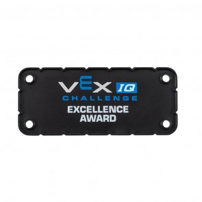 "VEX IQ Award Plate ""Excellence"""